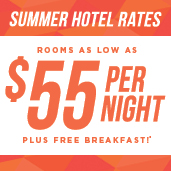 Summer Hotel Rates Graphic